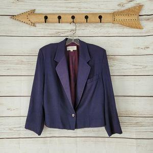 Kristen Blake | Vintage Union Tag 1 Button Blazer
